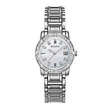 Bulova ladies' stainless steel bracelet watch - Product number 2293188