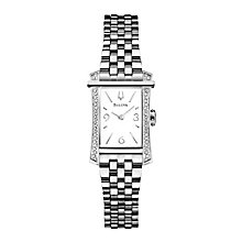Bulova ladies' stainless steel bracelet watch - Product number 2293234