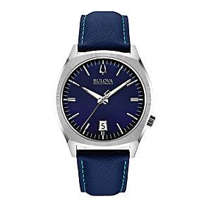 Bulova Accutron II Surveyor men's blue fabric strap watch - Product number 2293331
