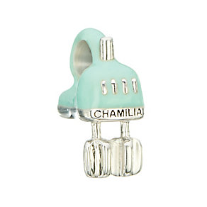 Chamilia Sterling Silver & Enamel Electric Mixer Bead - Product number 2293501