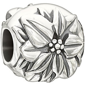Chamilia Sterling Silver Poinsettia Flower December Bead - Product number 2293552