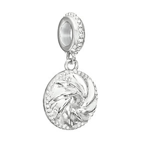Chamilia Sterling Silver Bundt Pan Hanging Charm Bead - Product number 2293579