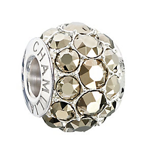 Chamilia Silver Light Gold Swarovski Elements Splendour Bead - Product number 2293757