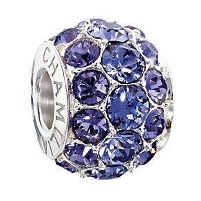 Chamilia Silver Tanzanite Swarovski Elements Splendour Bead - Product number 2293765