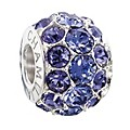 Chamilia Silver Tanzanite Swarovski Elements Splendour Bead - Product number 2293765