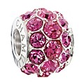 Chamilia Silver Rose Swarovski Elements Splendour Bead - Product number 2293781