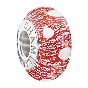 Chamilia Silver & Red Murano Glass Santa's Helper Bead - Product number 2293854