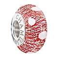Chamilia Silver & Red Murano Glass Santa's HelperBead - Product number 2293854