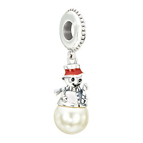 Chamilia Sterling Silver Frosty Snowman Hanging Bead - Product number 2293870