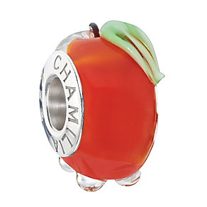 Chamilia Sterling Silver & Murano Glass Candy Apple Bead - Product number 2294036