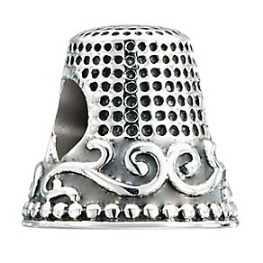 Chamilia Sterling Silver Fancy Thimble Bead - Product number 2294060