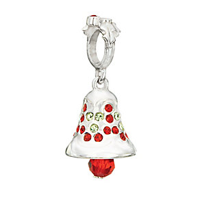 Chamilia Silver & Swarovski Crystal Silver Bells Bead - Product number 2294117