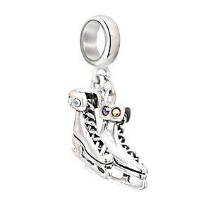 Chamilia Sterling Silver & Swarovski Elements Skates Bead - Product number 2294125
