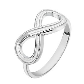 Sterling Silver Infinity Ring - Product number 2298120