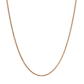 9ct Rose Gold Small Spiga Chain 16