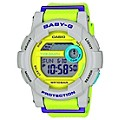 Casio Baby-G Ladies' Yellow & White Resin Strap Watch - Product number 2302128