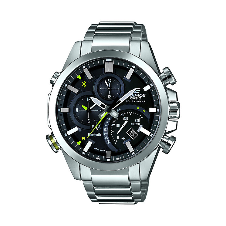 Casio Edifice Men's Stainless Steel Bluetooth Smart Watch - Product number 2302160