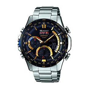 Casio Edifice Men's Infiniti Red Bull Stainless Steel Watch - Product number 2302209