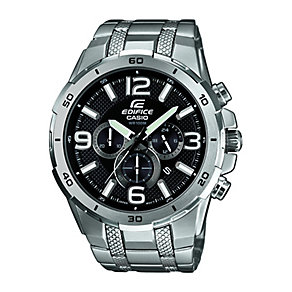Casio Edifice Men's Stainless Steel Chronograph Watch - Product number 2302225
