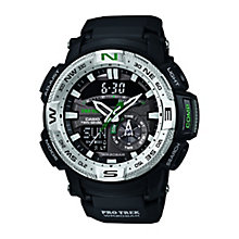 Casio Pro-Trek Black Resin Strap Watch - Product number 2302233