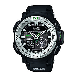 Casio Pro-Trek Black Resin Strap Watch - Product number 2302233