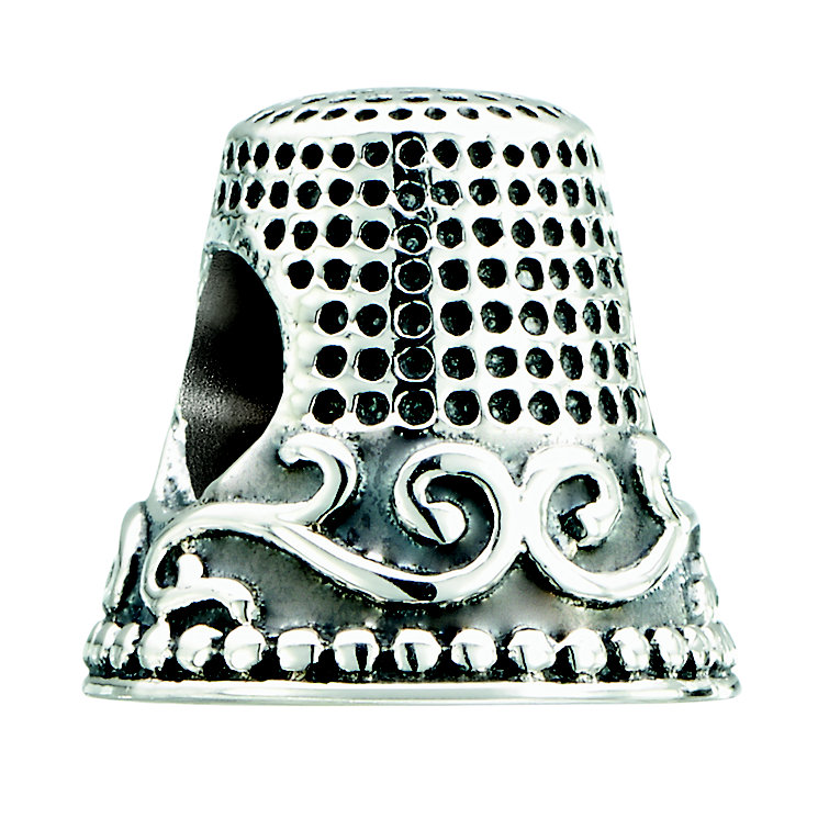 Chamilia sterling silver Fancy Thimble bead - Product number 2302861