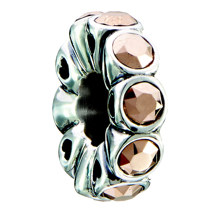 Chamilia sterling silver & rose gold tone Whimsy bead - Product number 2302918
