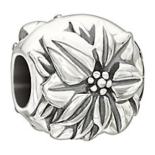 Chamilia sterling silver December Flower Pointsettia bead - Product number 2302934