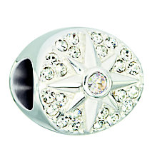 Chamilia sterling silver and crystal All is Bright bead - Product number 2303094