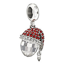 Chamilia sterling silver Swarovski crystal Santa charm - Product number 2303132