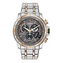 Citizen Eco Drive Men's Two Tone Bracelet Strap Watch - Product number 2305607
