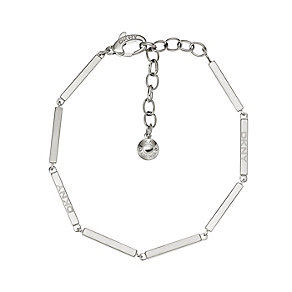 DKNY Polished Stainless Steel Stick Design Bracelet - Product number 2305763