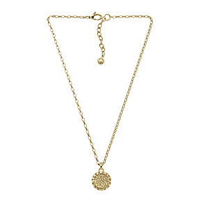 DKNY Light Colorado Topaz Round Disc Pendant - Product number 2306069