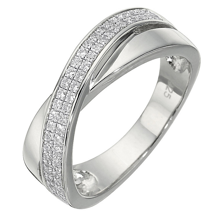 Sterling Silver Cubic Zirconia Ring - Product number 2306506