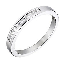 Platinum 1/5 carat diamond wedding ring - Product number 2307413