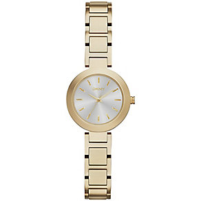 DKNY Ladies' Stanhope Yellow Gold Tone Bracelet Watch - Product number 2307545