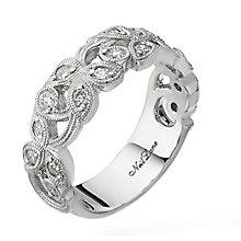 Neil Lane Designs 14ct white gold 0.47ct diamond vine ring - Product number 2307820