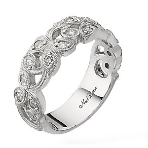 Neil Lane Designs 14ct white gold 0.45ct diamond vine ring - Product number 2307820