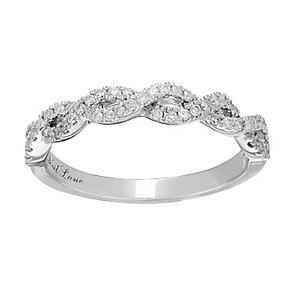 Neil Lane Designs 14ct white gold 0.25ct diamond twist band - Product number 2307979