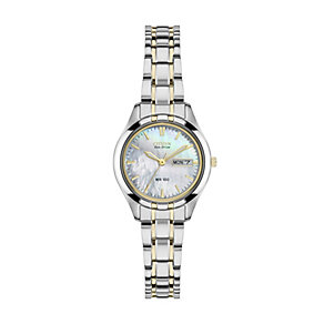 Citizen Eco Drive Ladies' Mother of Pearl Two Tone Watch - Product number 2308843