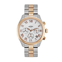 Rotary Paris ladies' two colour bracelet watch - Product number 2308916