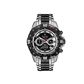 Bulova Men's Two Colour Chronograph Watch - Product number 2309076