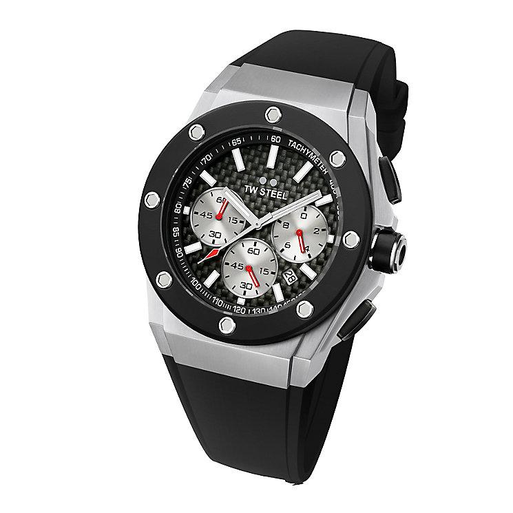 TW Steel men's black rubber strap watch - Product number 2309742