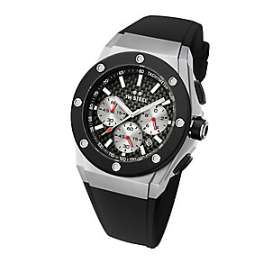 TW Steel men's black rubber strap watch - Product number 2309742