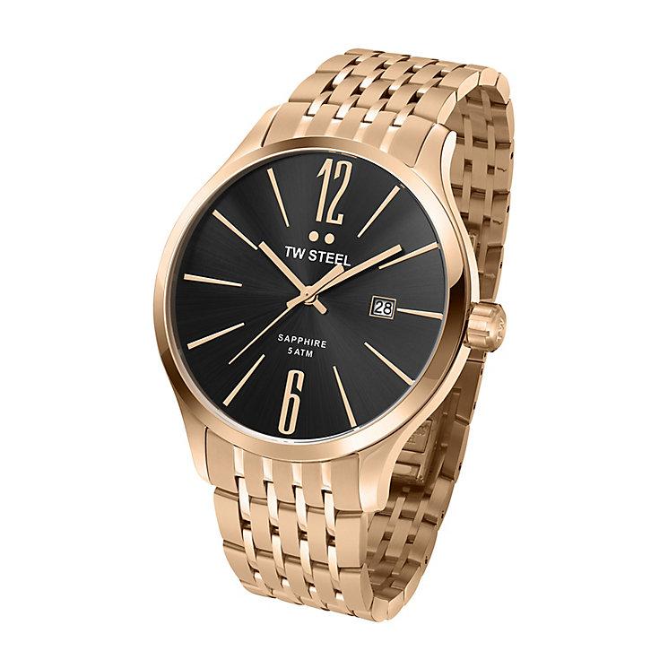 TW Steel Slim Line men's stainless steel bracelet watch - Product number 2310023