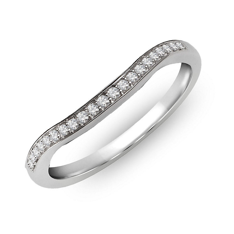 Perfect Fit 18ct White Gold & Diamond Eternity Ring - Product number 2310139