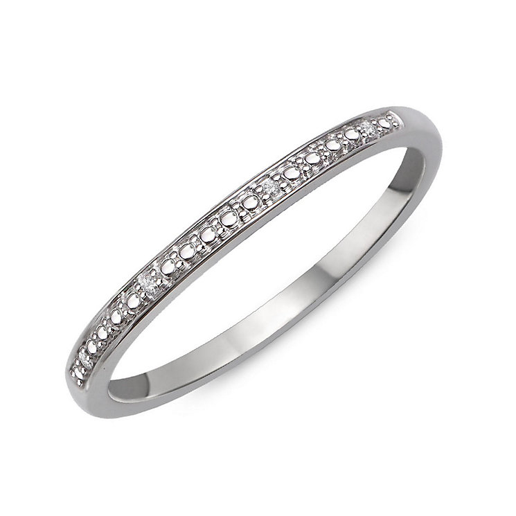 Perfect Fit 9ct White Gold & Diamond Eternity Ring - Product number 2310341