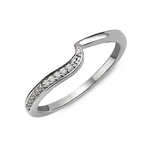 Perfect Fit 9ct White Gold & Diamond Eternity Ring - Product number 2310481