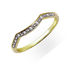 Perfect Fit 9ct Yellow Gold & Diamond Eternity Ring - Product number 2310880