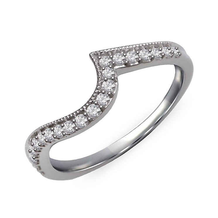 Perfect Fit 9ct White Gold & Diamond Eternity Ring - Product number 2311151